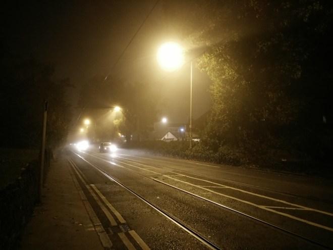 Foggy Croydon - colour