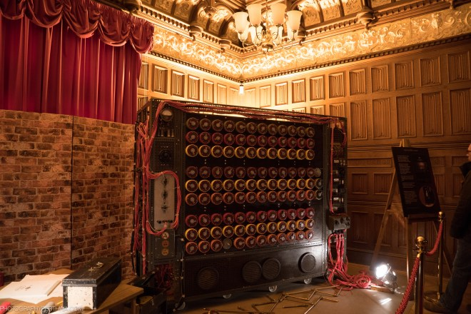 The Bombe used in the movie The Imitation Game