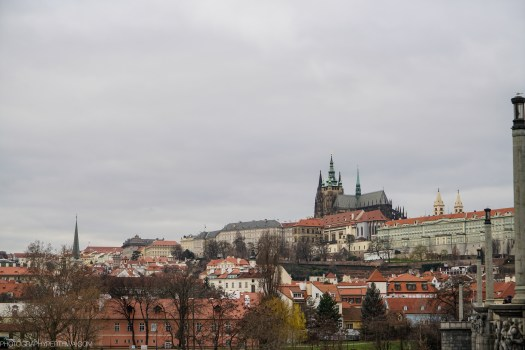 View across the river in Prague
