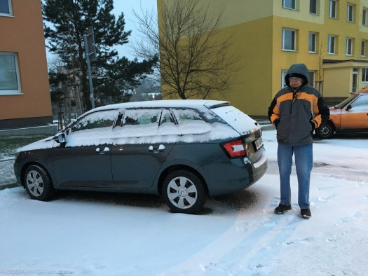 snowy Skoda