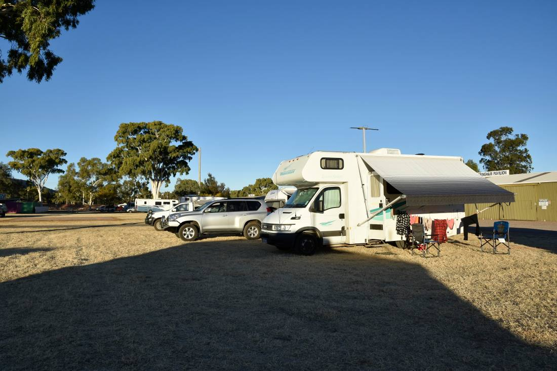 Alice Springs - our campsite