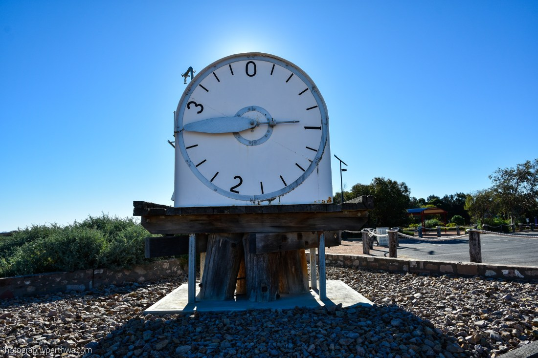 tidal clock at Port Germein (1 of 1)