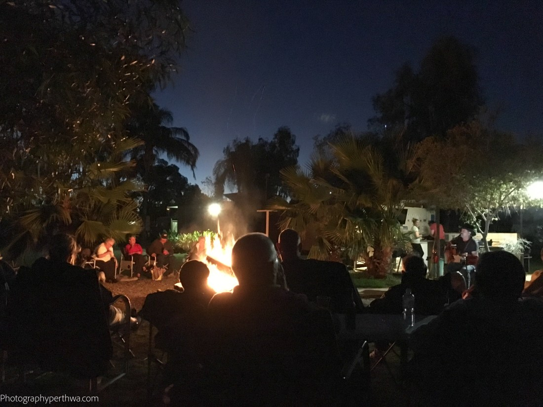 around the campfire (1 of 1)