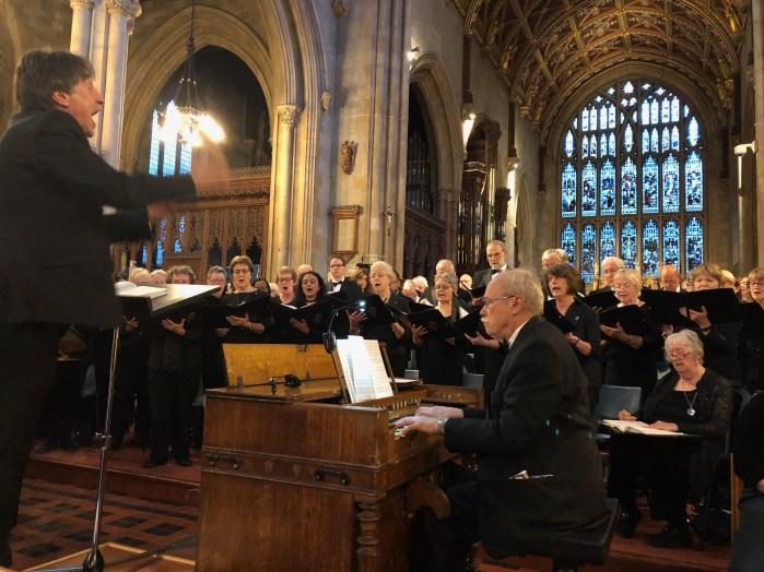 choir singing - 1