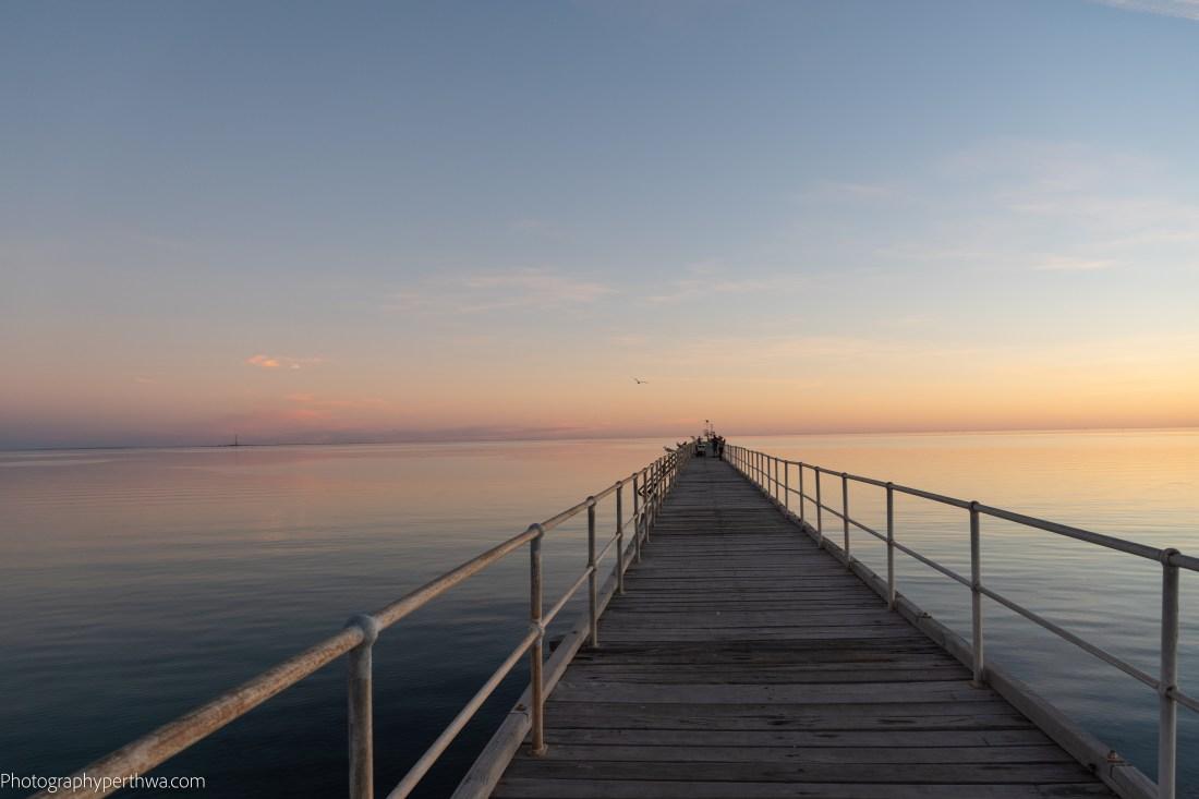 Port Germein sun gone jetty (1 of 1)