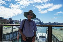 Stephen and Sydney Harbour bridge (1 of 1)