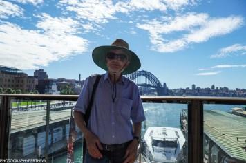 Stephen and Sydney Harbour bridge (1 of 1)