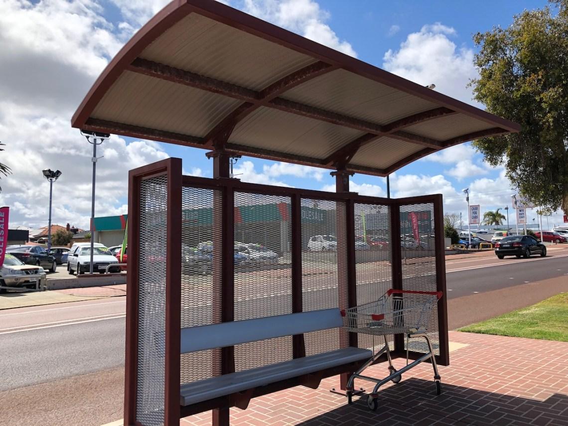 bus stop - 1