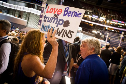 Love Bernie or Trump Wins_1