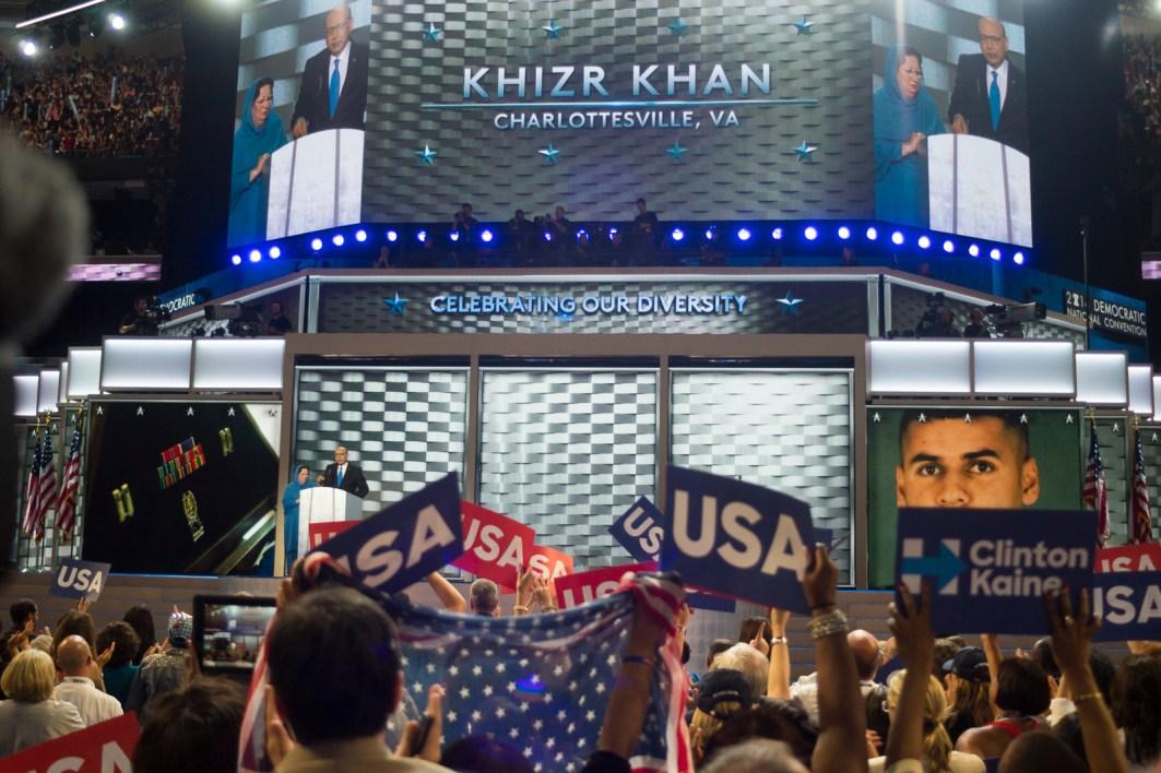 Khizer and Ghazala Khan