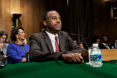 Dr. Ben Carson at Hearing for HUD