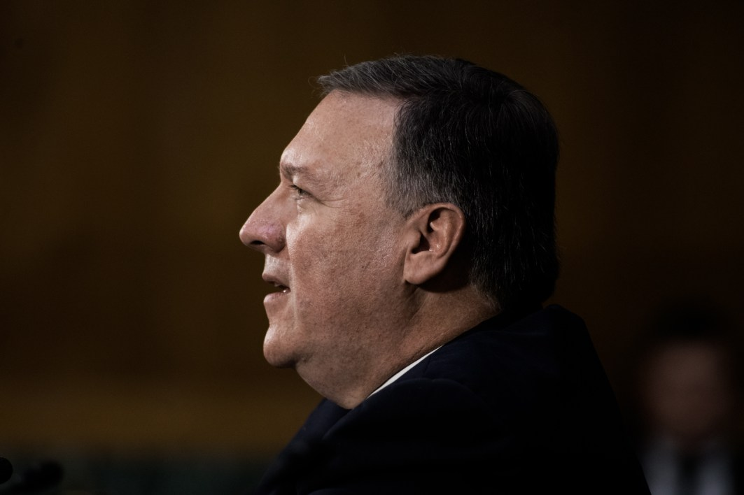 Mike Pompeo at Hearing to become Director of the CIA