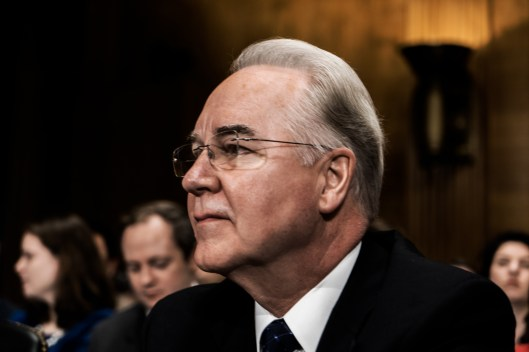 Rep. Tom Price at Congressional Hearing for Director of HHS