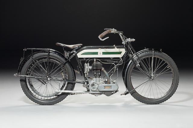 1914 TRIUMPH 3½HP MODEL D TT REPLICA