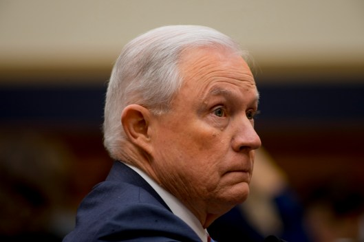 Attorney General Jeff Sessions testifies during House hearing14
