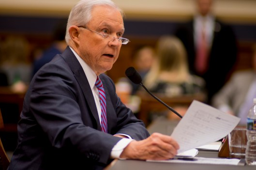 Attorney General Jeff Sessions testifies during House hearing30