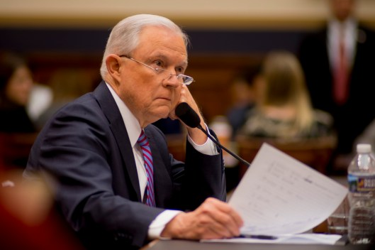 Attorney General Jeff Sessions testifies during House hearing31