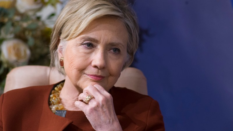 Hillary Rodham Clinton and Sen. Diane Feinstein