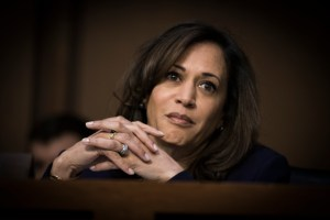 Sen Kamala Harris at the Worldwide Threats Assessment Senate briefing Feb 13, 2018
