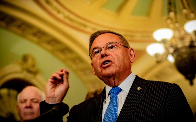 Senator Bob Menendez (D-N.J.)