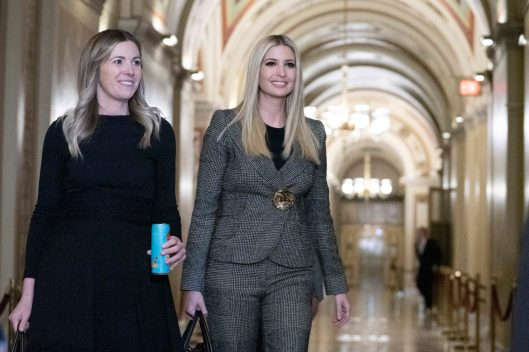 IVANKA TRUMP meets at the Senate Foreign Relations Committee to promote the Build Act to ensure U.S. foreign assistance is effective in supporting developing countries under USAID, November 14, 2018.