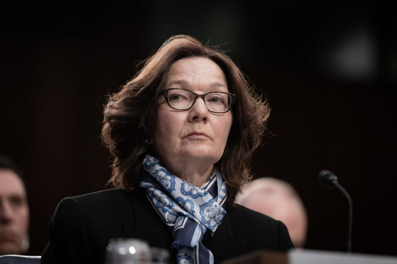 CIA Director GINA HASPEL testifies before the Senate Intelligence hearing on Worldwide Threats in 2019