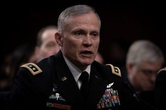 Defense Intelligence Agency Director General ROBERT ASHLEY testifies before the Senate Intelligence hearing on Worldwide Threats in 2019