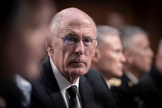 Director of National Intelligence DANIEL COATS testifies before the Senate Intelligence hearing on Worldwide Threats in 2019