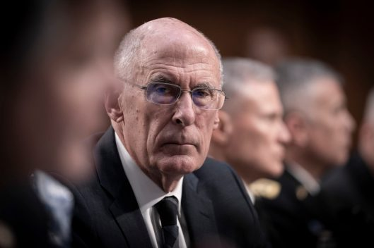 Director of National Intelligence DANIEL COATS testifies before the Senate Intelligence hearing on Worldwide Threats in 2019