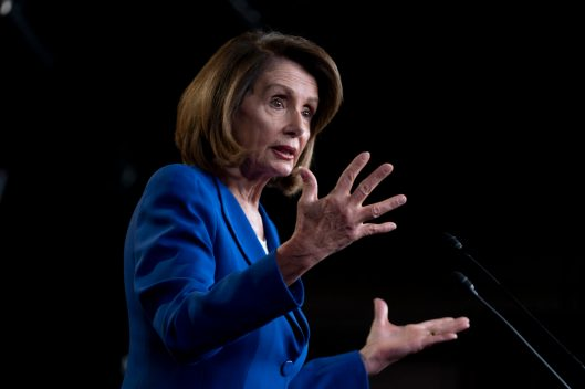 House Speaker NANCY PELOSI (D-CA) holds her weekly press conference a day after negotiations begin between Congress and the President to find a compromise on border security funding to make sure the government doesn't shut down again. January 31, 2019