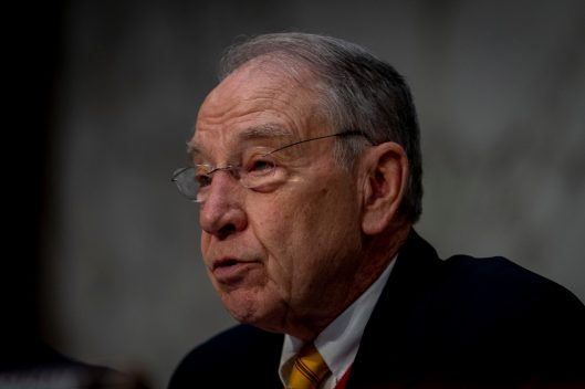 Senator CHUCK GRASSLEY (R-IA) at WILLIAM BARR's confirmation hearing to become Attorney General of the United States, January 15, 2019