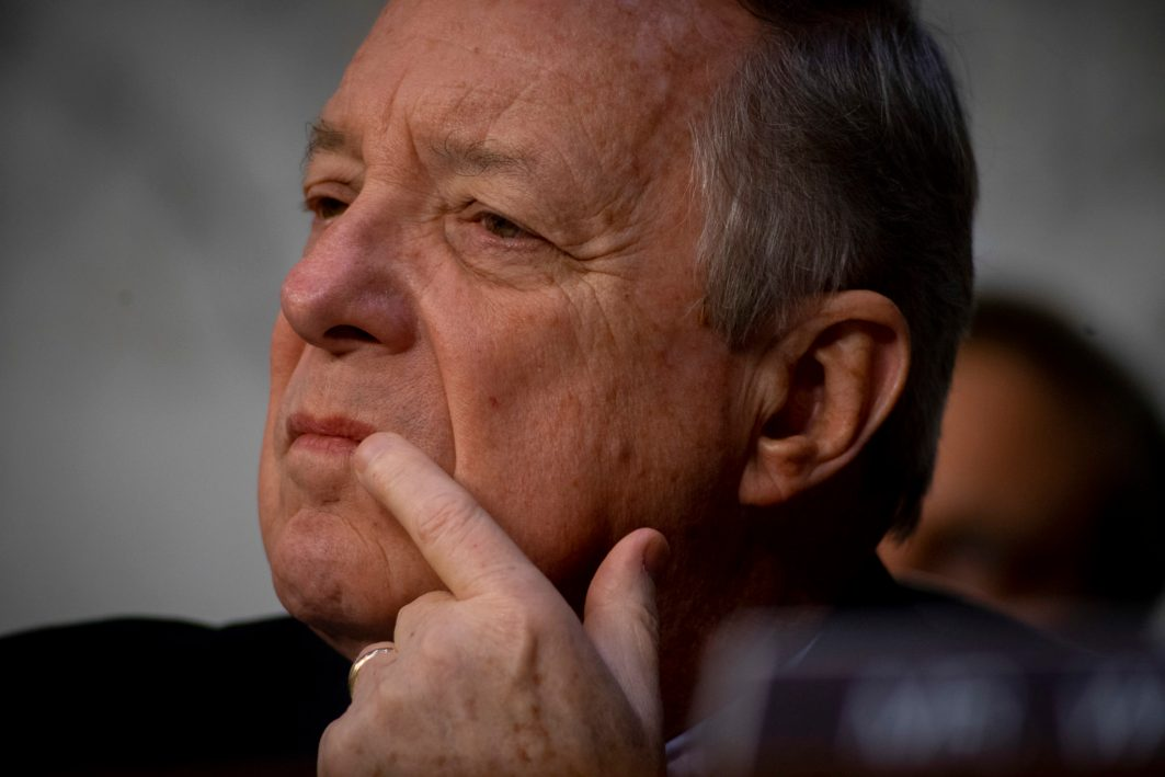 Senator DICK DURBIN (D-IL) at WILLIAM BARR's confirmation hearing to become Attorney General of the United States, January 15, 2019