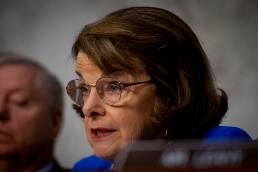Ranking Member of the Senate Judiciary Committee, DIANNE FEINSTEIN (D-CA), at WILLIAM BARR's confirmation hearing to become Attorney General of the United States, January 15, 2019