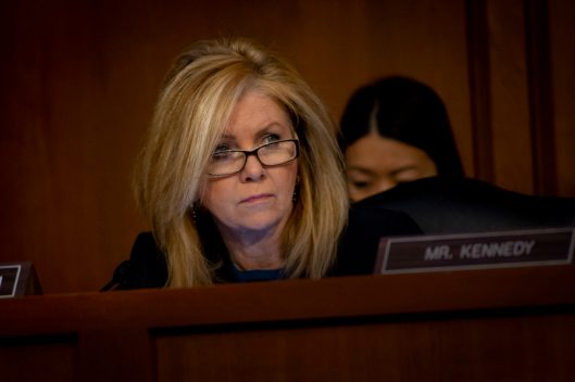 Senator MARSHA BLACKBURN (R-TN) at WILLIAM BARR's confirmation hearing to become Attorney General of the United States, January 15, 2019