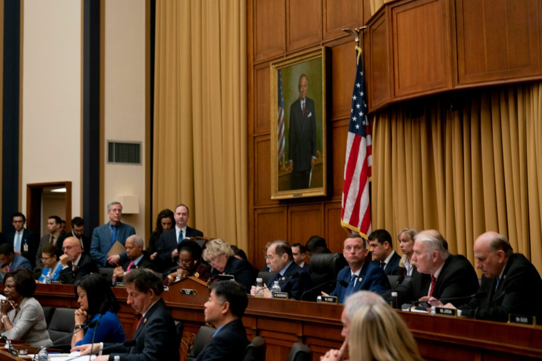 Chairman of the House Judiciary Committee, JERRY NADLER (D-NY), grills Acting Attorney General MATTHEW WHITAKER, February 8, 2019