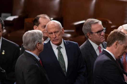 Director of National Intelligence DAN COATS at the State of the Union address, February 5, 2019