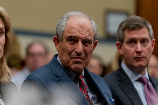 MICHAEL COHEN'S personal attorney, LANNY DAVIS, as COHEN testifies before the House Oversight Committee, February 27, 2019