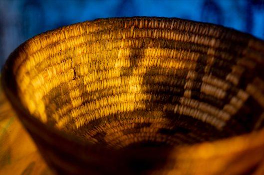 Vintage Pima Southwest indian Basket