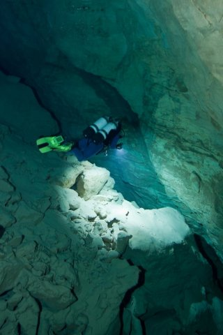 Tommy Grahams underwater cave
