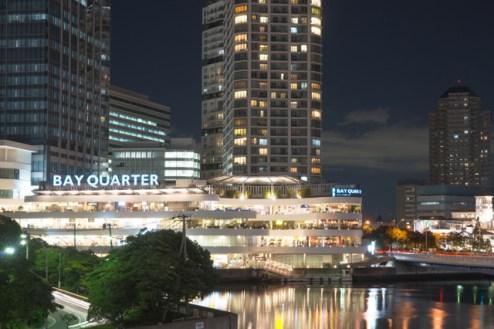 BAYQOARTERの夜景