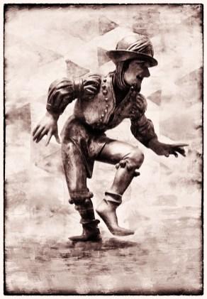 Танец мориска. 16 век