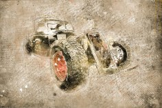 Форд Мотор Компани и акварельная графика