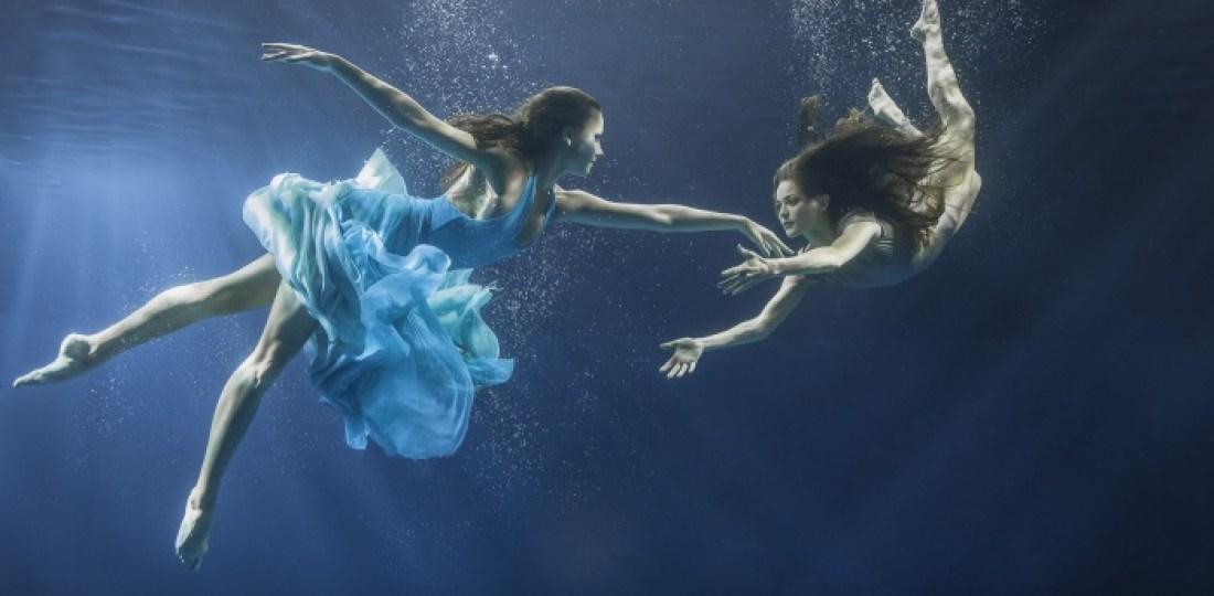 Майя Алмейда_танец под водой