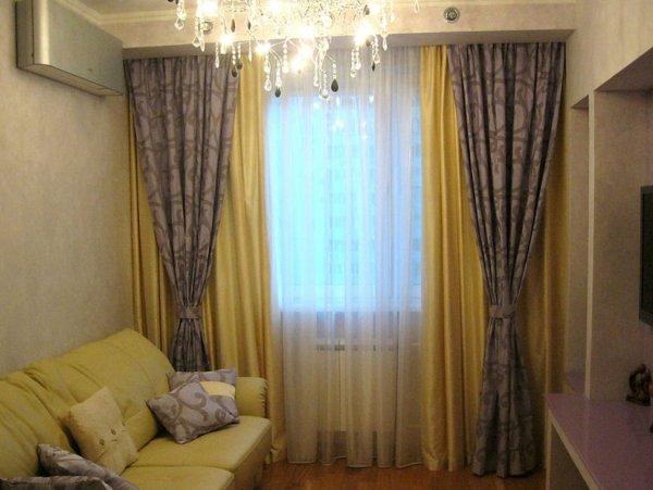 Шторы для гостиной (25 фото), как выбрать, шторы в ...