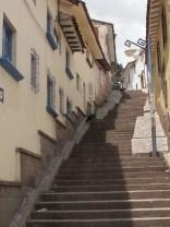 Stairs, everywhere stairs.