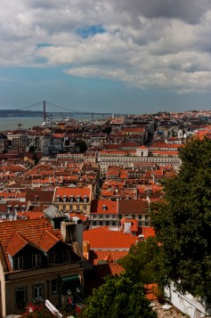 Red roofs of Lisbon II