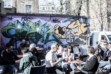 Street Art from Portebello Road Market (London 2014)