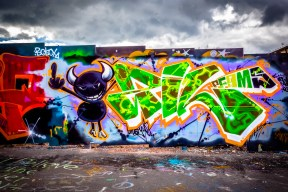 Street Art From Suvilahti (Summer 2013)