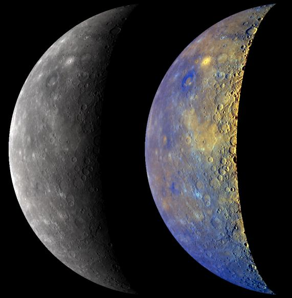 MESSENGER map of Mercury