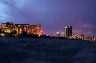 Night picnic on South Beach